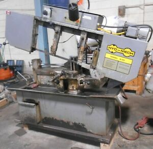 """HYD-MECH 13"""" X 18"""" MODEL S-20 HORIZONTAL BAND SAW WITH MITER CUTTING OPTION"""