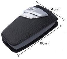 1PC Genuine Leather BMW Key Case Bag Sport Line Fits BMW 2 3 5Series X3  SILVER