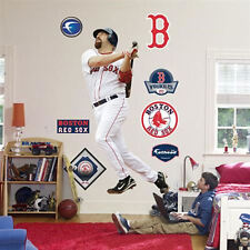 "KEVIN YOUKILIS RED SOX 6'5""X3'5"" FATHEAD REAL BIG Lifesize wall graphics + extra"