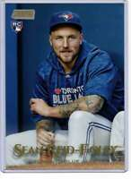 Sean Reid-Foley 2019 Topps Stadium Club 5x7 Gold #254 /10 Blue Jays