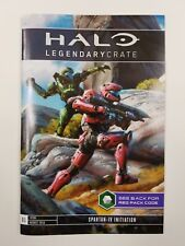 Halo 5 Loot Crate Legendary Crate Req pack code pamphlet