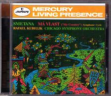 Rafael Kubelik: Smetana ma Vlast mio padre paese Mercury LIVING presence CD 1996