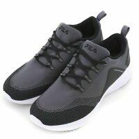 Fila Men's Athletic Running Tennis Shoes / Sneakers VERSO  Grey 10.0