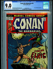 Conan the Barbarian  #14 CGC 9.0 1972 Marvel Comic 1st  Elric Amricons B11