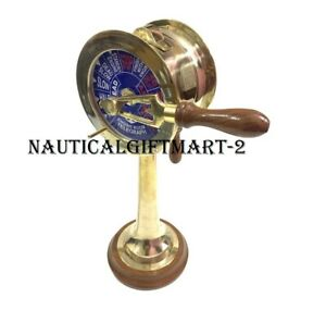 14 inch Nautical Maritime Brass Ship's Engine Order Telegraph Decorative Collect