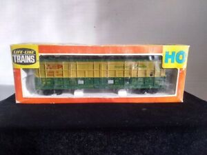Vintage Life-Like Thrall Door Boxcar AP Lumber HO Scale Freight Car #4855