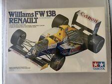 Tamiya Williams FW 13B Renault 1:20 Scale Model Kit NIB, Boutsen, Patrese