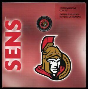 2008 Ottawa Senators Commemorative Coin Set Canada