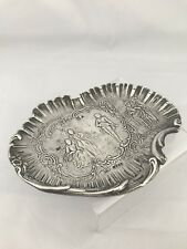 Solid Silver Victorian Dressing Table Tray 1895 London Import