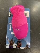 Nwt Head ThermalFur Fleece Gloves Mittens - Child Size Pink Small, S, New