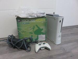 Microsoft Xbox 360 Arcade Weiß Spielekonsole Konsole OVP Controller + Spiel