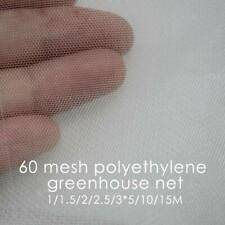 INSECT NETTING NET Fine Woven Mesh Anti Butterfly Fly Screen  Bug  E