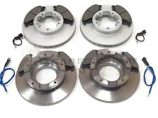 FORD TRANSIT 280 300 2.2 TDCi FWD 06-13 FRONT AND REAR BRAKE DISCS & PADS SET