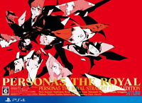 Persona 5 The Royal Straight Flush Edition Sony PS4 Games From Japan NEW