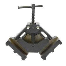 "4"" Jaw 90 Degree Welder Wood Molding Angle Corner Clamp Bench Vise Welding"