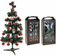 30PC CHRISTMAS TREE STAND HANGING DECORATIVE ORNAMENTS DECORATION XMAS SET 55828