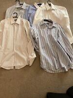 "Hugo Boss 5 Men Formal Smart  Shirt Bundle All Size Chest 41"" Collar 16"""
