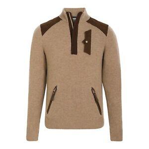 Brand New Alps & Meters Cashmere  Alpine Guide Ski Sweater Sz. L $795