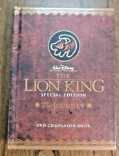 Disney The Lion King Special Edition The Journey DVD Companion Book ONLY