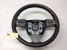 Cadillac CTS Steering Wheel w/ Switches and Buttons Cocoa 08 Used OEM