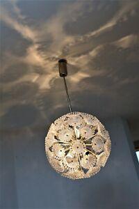Lamp Pusteblume Sputnik Lampe Vintage 60er 70er