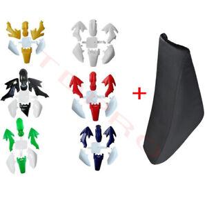 CRF50 PLASTICS KIT SEAT FO DIRT/PIT BIKE 50/70/90/110/125CC THUMPSTAR ATOMIK SSR