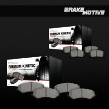 Front And Rear Performance Ceramic Brake Pads 2005 2006 Ford F250 F350 4X4 4WD