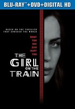 The Girl on the Train (Blu-ray + DVD + Digital HD) NEW