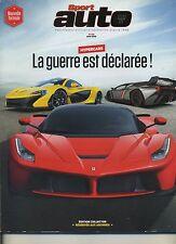 SPORT AUTO n°615 04/2013 MAC LAREN P1 FERRAI CLIO RS PORSCHE 911 GT3 COLLECTOR