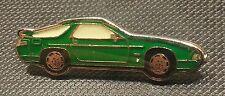 Porsche Pin 928 S4 grün glasiert 37x12mm