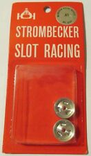 1/32 Strombecker Aluminum Racing Press-On Wheels #8060 MOC '60s