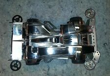 Tamiya Silver Metallic 1/32 Mini 4WD w/aluminum upgrades Hard to find...