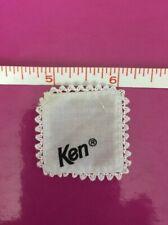 Ken Doll White Handkerchief