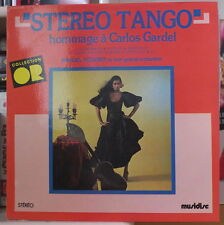 MANUEL PIZARRO HOMMAGE A CARLOS GARDEL CHEESECAKE COVER FRENCH LP MUSIDISC