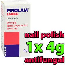1x PIROLAM 4g - nail polish tinea antifungal manicure heals best top