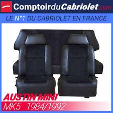 Garnitures sièges avant et banquette arrière pour Austin Mini MK5