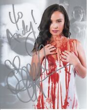 "Danielle Harris Halloween Autograph Convention 8""x10"" Photo To Andy"
