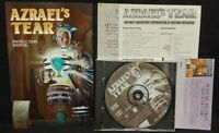 1996 Azrael's Tear CD-ROM Game + Manual - Mint Disc 1 Owner !