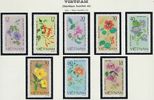 VIETNAM N°255/262** Fleurs 1980, Vietnam #1098-1105 Flowers MNH