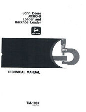 John Deere 300B Technical Manual       TM - 1087