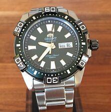 Orient XL 43 mm Green FEM7R001F9 Taucheruhr Herren Automatic Watch Automatik Uhr