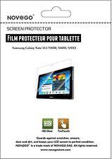2 Films de protection d'écran haute transparence Samsung Galaxy Note 10.1 *