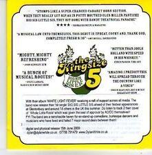 (AQ266) The Kingsize Five, Big Sis Little Sis - DJ CD