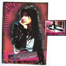 Ashlee Simpson! Autobiography 2005 Tour Book Rare!