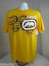 ECKO UNLTD Short Sleeve T-shirt Yellow Size Small NWT