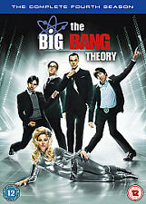 The Big Bang Theory - Series 4 - Complete (DVD, 2011, 3-Disc Set) New/Sealed