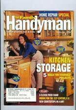 2001 Family Handyman Magazine: Kitchen Storage/Home Rapair Special
