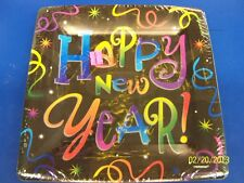 """Countdown Celebration Happy New Year's Eve Holiday Party 10.25"""" Banquet Plates"""