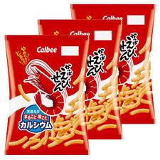 Calbee Kappa Ebisen Shrimp Flavored Chips Japanese Snack 90g x 3 Bags