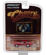 Greenlight 44770 B 1967 Cheers Sam's Corvette Sting Ray Diecast Car 1:64
